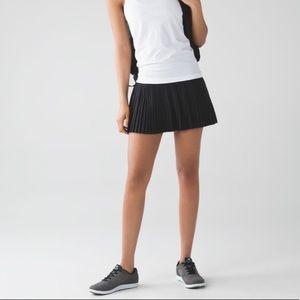 Lululemon • Pleat to Street Skirt II in Black